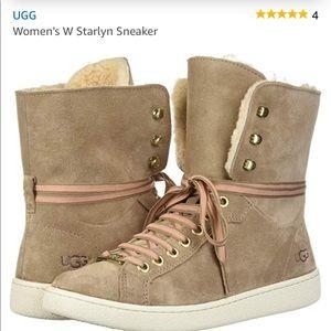 Ugg high top sneakers 7.5